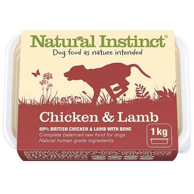 Natural Instinct Chicken & Lamb 1kg Pack