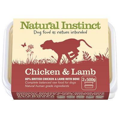 Natural Instinct Chicken & Lamb Twin 500g Pack