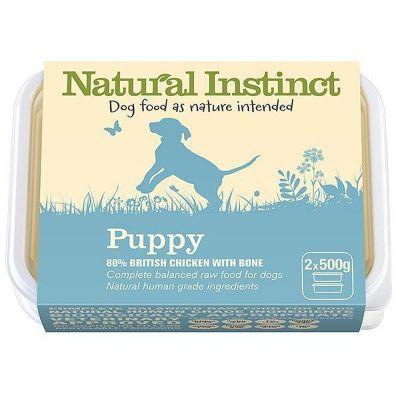 Natural Instinct Puppy Twin 500g Pack
