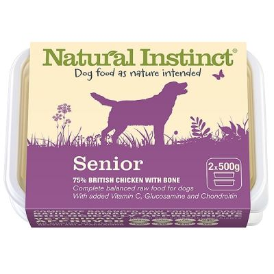 Natural Instinct Senior Twin 500g Pack