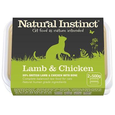 Natural Instinct Lamb & Chicken Twin 500g Pack