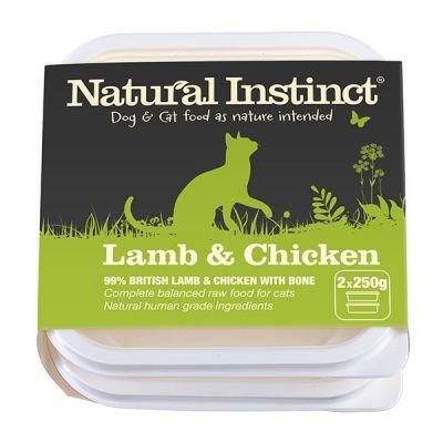 Natural Instinct Chicken & Beef Twin 500g Pack