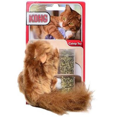 Kong Refillables Catnip Squirrel Toy