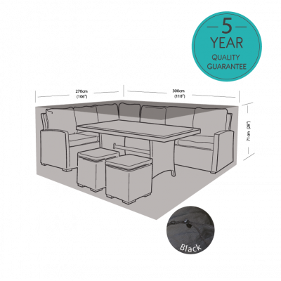 ENJOi Casual Dining Set Cover Large