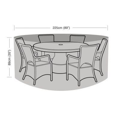 6 Seater Round Furniture Set