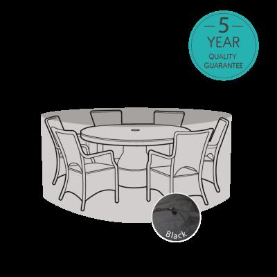ENJOi 6 Seater Round Furniture Set Cover