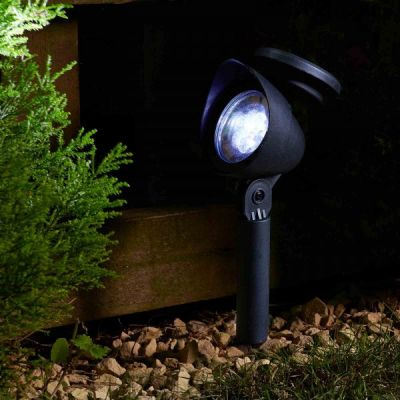 Smart Garden Solar Prima Spotlight Set   Pack of 4 with Carry Pack