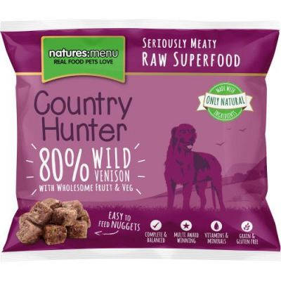 Venison & Blueberry Nuggets Country Hunter 1kg