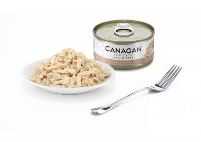 Canagan Cat Can Tuna With Crab 75g