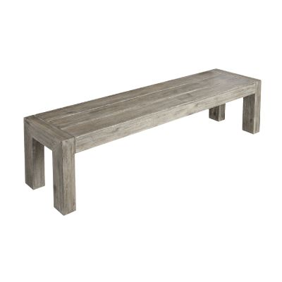 Alexander Rose Old England Grey Distressed Bench