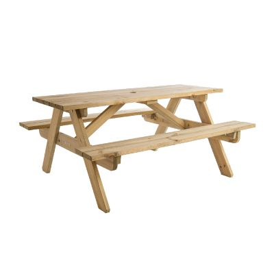 Alexander Rose Pine Childrens  Picnic Table 2ft