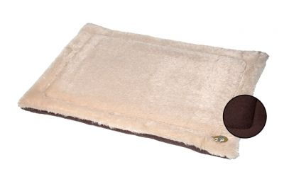 Gro Pets Brown Small Nordic Crate Mat