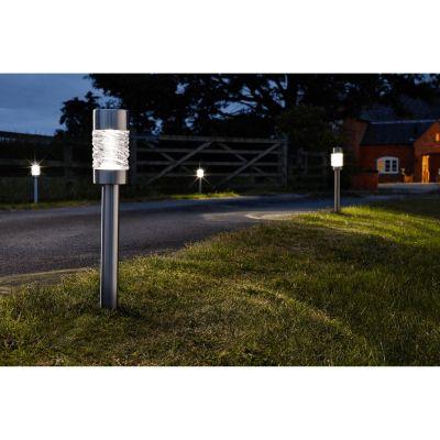 Smart Garden Solar Martello Stake Light - Pack of 3