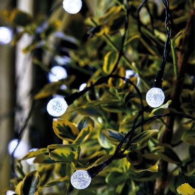50 Ultra Solar Orb String Lights