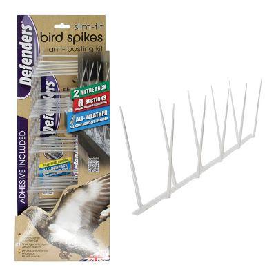 Defenders Slim-Fit Bird Spikes - 2 Metre Kit