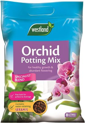 Westland Orchid Potting Mix Enriched With Seramis