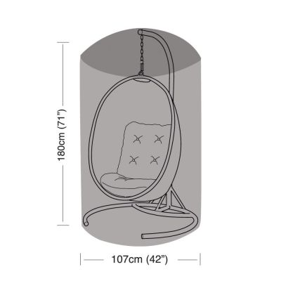 Single Hanging Chair Cover