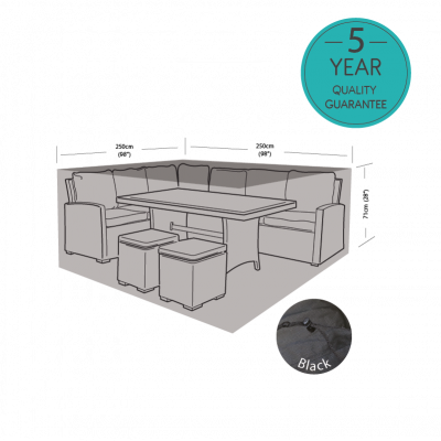 ENJOi Small Square Casual Dining Set Cover