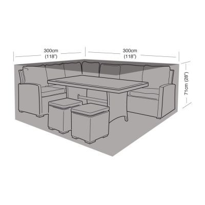 Square Dining Set Cover