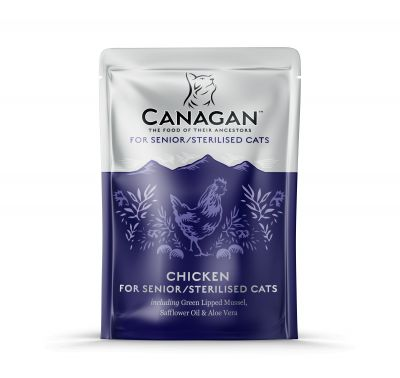 Canagan Cat Pouch   Senior/ Steralised 85g