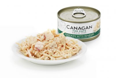 Canagan Cat Can Chicken with Sea Bass 75g