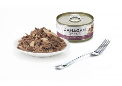 Canagan Cat Can Tuna with Salmon 75g