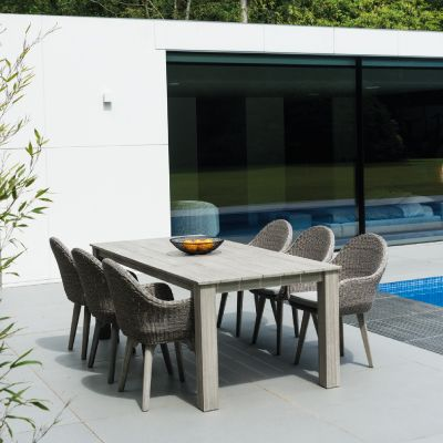 Alexander Rose Woven Chair With Cushion