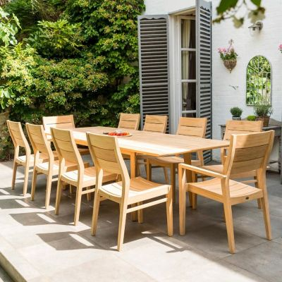 Alexander Rose Roble Extending Square Table