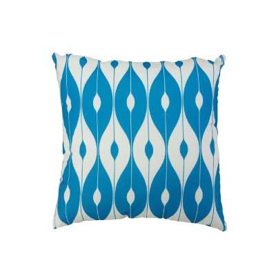 Blue Patterned Scatter Cushion