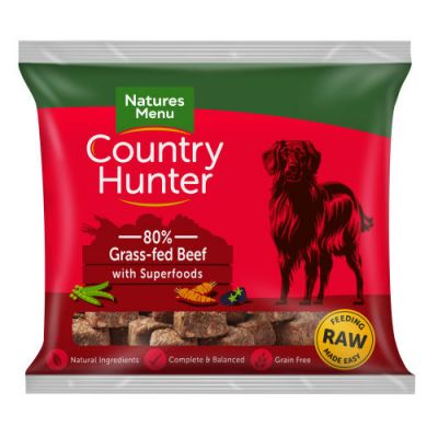 Natures Menu Grass Fed Beef Nuggets 1kg