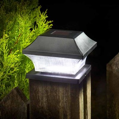 Smart Garden Solar 3L Post Light