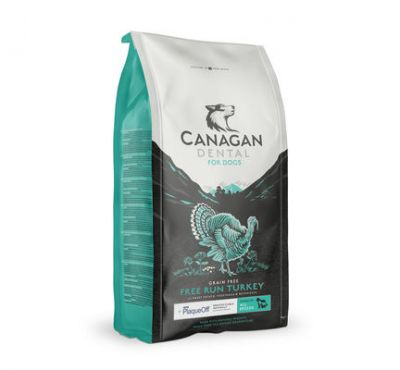Canagan Free Run Turkey Dental Dry 2kg
