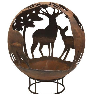 Robert Charles Fireball Stag & Deer 50cm