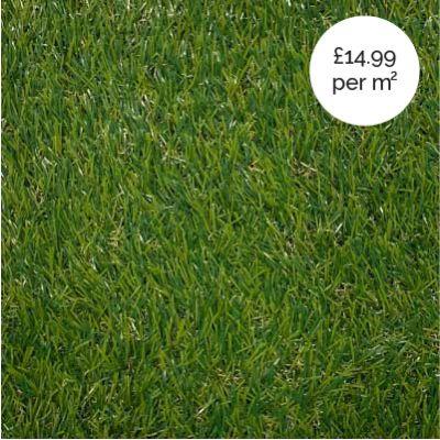 Artificial Grass Bronze 25mm 2m width