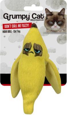 Grumpy Cat Banana Peel Crinkle Toy