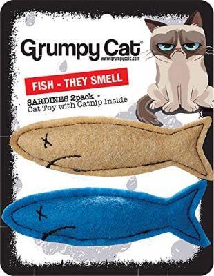 Grumpy Cat Smelly Sardines 2pk
