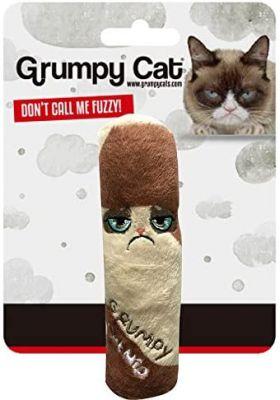 Grumpy Cat Catnip Chew Toy