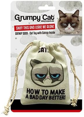 Grumpy Cat Catnip Sack