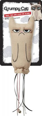 Grumpy Cat Catnip Sock Toy