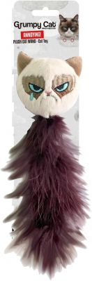 Grumpy Cat Grumpy Feather Tail