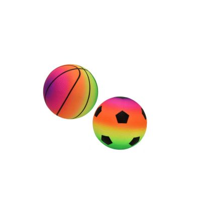 PVC Fluorescent Inflated Sports Ball