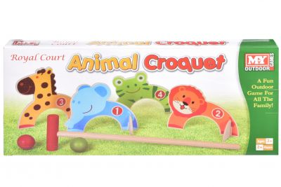 Animal Croquet Game