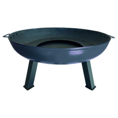 Robert Charles Atlanta Large Cast Iron Firepit   Natural