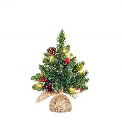 Creston Christmas Tree with LED Lights 30cm