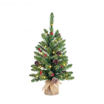 Creston Christmas Tree with LED Lights 60cm