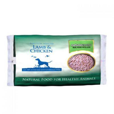 Natures Menu Free Flow Mince Chicken & Lamb 2kg