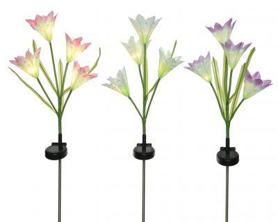 LED Solar Lily Flower