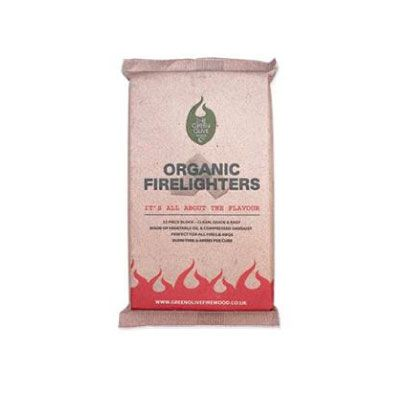 Green Olive Organic Firelighters
