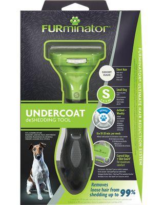 FURminator Undercoat deShedding Tool forSmall Short Hair Dog
