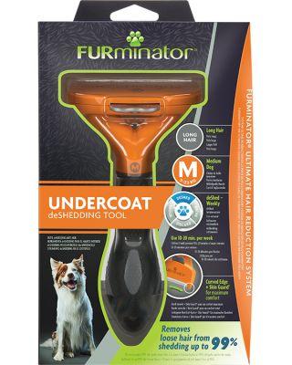FURminator Undercoat deShedding Tool for Medium Long Hair Dog